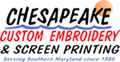 Chesapeake Custom Embroidery